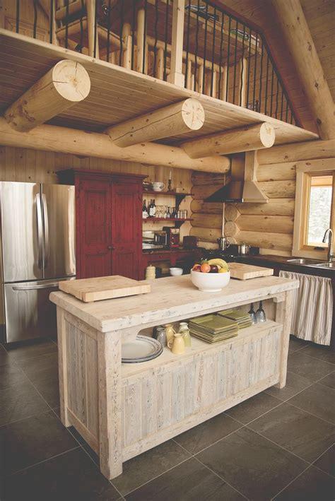 ilot bois cuisine ilot de cuisine en bois de grange mzaol com