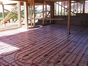 Installing Radiant Floor Heating Bend Oregon