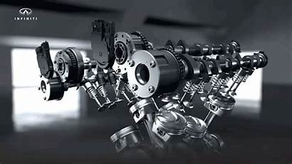 Engine Vr Infiniti Turbo V6 Twin Animation