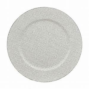 Lot D Assiette : lot de 12 dessous d 39 assiette redola blanc d coration de table eminza ~ Teatrodelosmanantiales.com Idées de Décoration