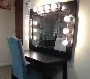 Miroir Coiffeuse Lumineux : miroir lumineux maquillage id es de d coration int rieure french decor ~ Teatrodelosmanantiales.com Idées de Décoration