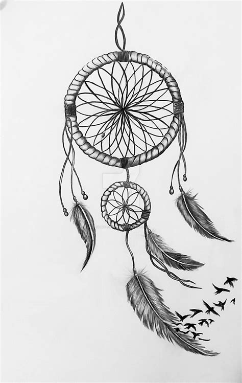 Dreamcatcher Drawing by Sobiya-Draws | Miscelaneous IV | Pinterest | Drawings, Tattoo and Dream