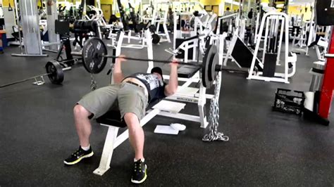 How To Get A 300 Pound Bench Press! Youtube