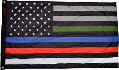 Flag Subdued Usa Honor 3x5