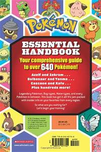 pokemon essential handbook