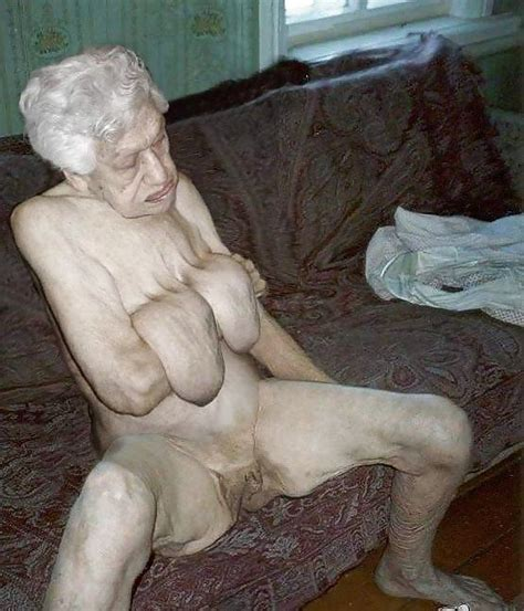 old wrinkly saggy granny body
