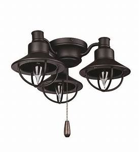Turn of the century dual function nautical ceiling fan