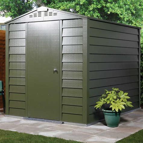 shed 6x3 trimetals titan 630 metal shed 6x3 garden