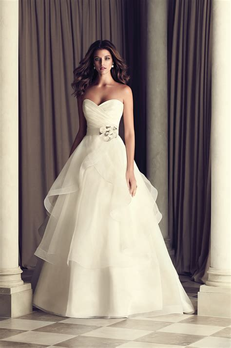 tiered skirt wedding dress style 4465 paloma blanca
