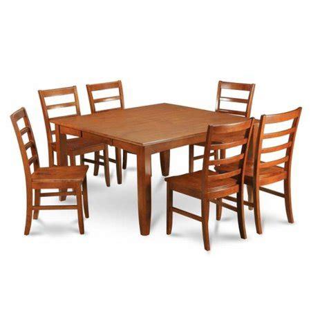 east west furniture parf7 sbr w 7 parfait east west furniture parf7 sbr w 7 parfait square