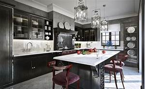 why you must absolutely paint your walls gray freshomecom With kitchen colors with white cabinets with glitter canvas wall art