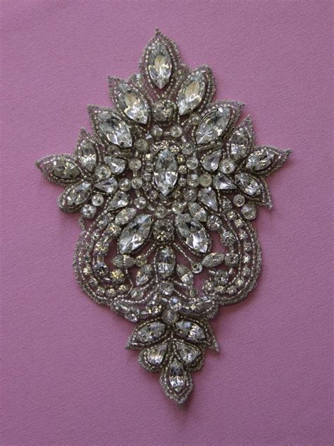 applique swarovski 1000 images about gold work bead embroidery on