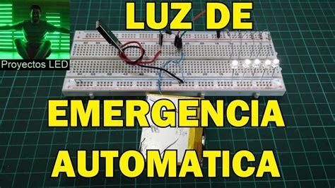 luz de emergencia casera automatica muy facil de hacer