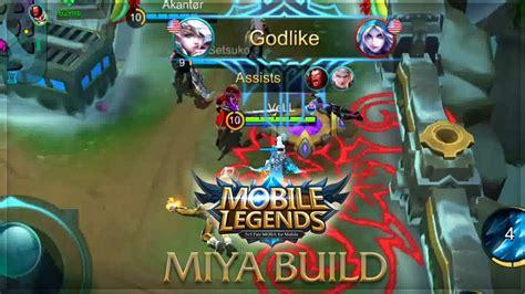 Miya Unstoppable Build