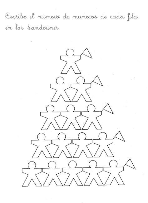 Escuela Infantil Castillo De Blanca Fichas De MatemÁticas 1