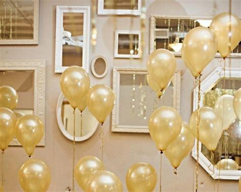dekoartikel goldene hochzeit silvester deko f 252 r eine unvergessliche party