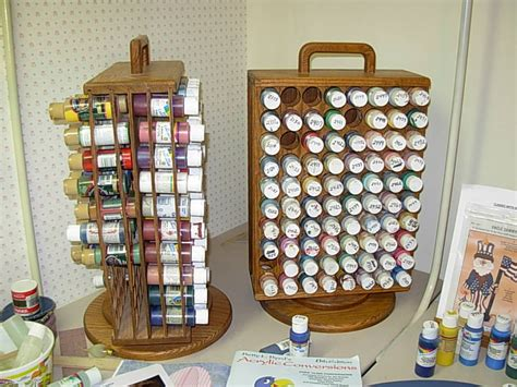 house projects thread spool rack magazine rack and paint