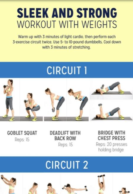 circuit training routines workout workouts exercises indulgy fitness muscle beginners program ideal gym session via idealme building burn build