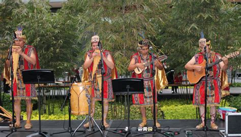 The marinera is the national dance of peru, named by the writer abelardo gamarra in honor of the sailors who fought against the army of chile in the pacific war. Inca Son performed traditional music from the Peruvian Andes at Cleveland Museum of Art