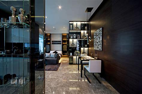 high gloss high contrast high drama interiors