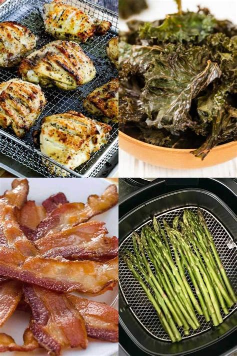 fryer air keto recipes meals easy delicious diet cook chicken thighs chips paleo simple kale re satisfying makes asparagus