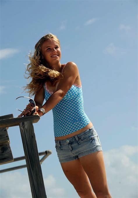Caroline Wozniacki New Age Tennis Teen Sensation Off Court Pictures