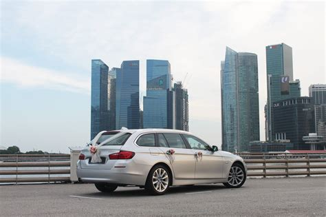 Champagne Bmw 528i Wagon  Perfect Wedding Cars Singapore