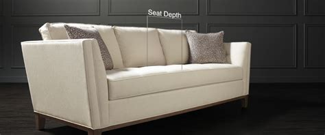 Couch Depth Choosing Between Shallow & Deepseated Sofas
