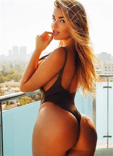 Meet Anastasiya Kvitko The Curvy Russian Model Who Has The World S Most Beautiful Bottom