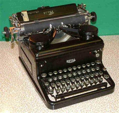 royal typewriter restored royal model s circa 1934