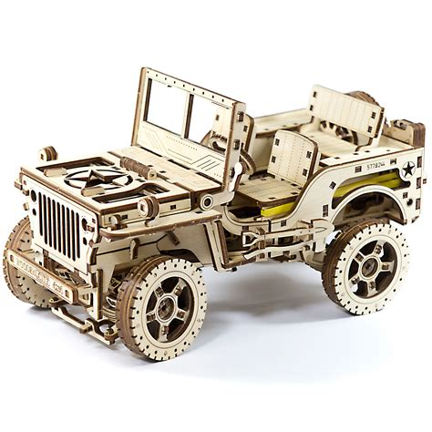 city jeep wooden city jeep 4x4 ebay