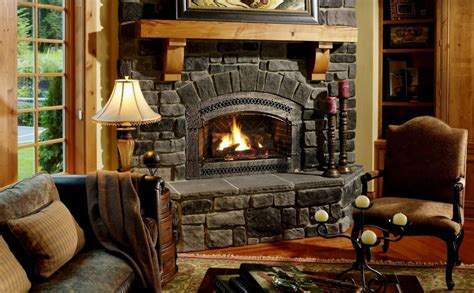 Fire Place : How To Decorate The Zone Around The Fireplace