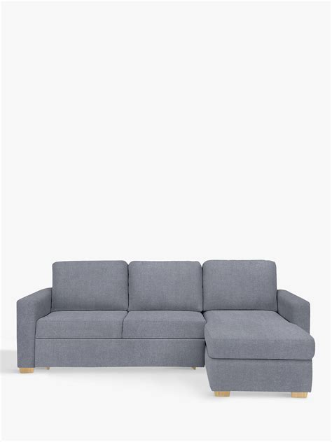 bed settee lewis lewis partners sacha large sofa bed with foam