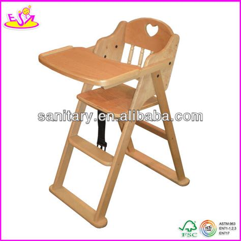 2016 new fashion baby high chair solid wood high chair