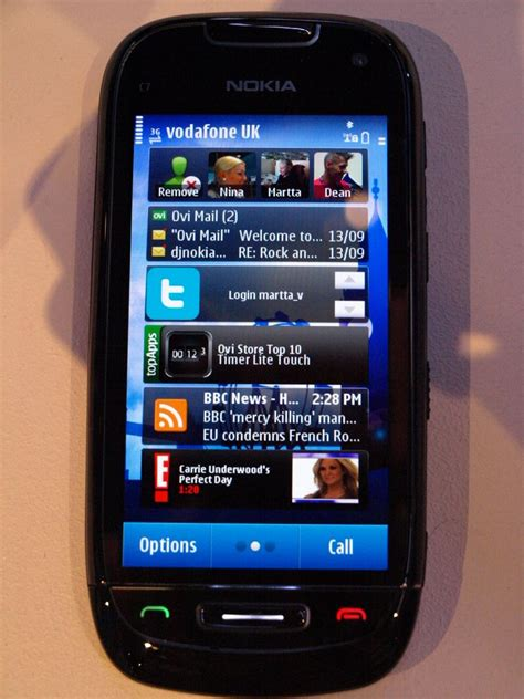 Handson With The Nokia C7 Symbian^3 Smartphone For The Masses