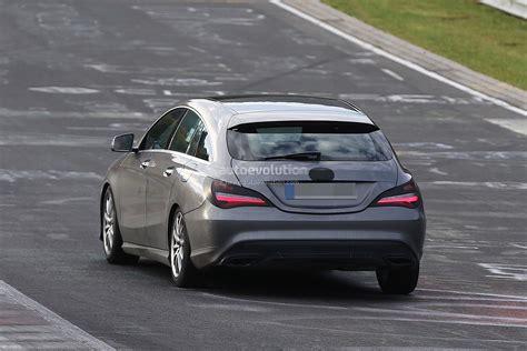 2017 Mercedes Benz Cla Shooting Brake Facelift Looks Its