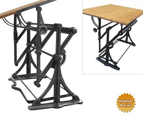 classeur bureau ancienne table à dessin d architecte