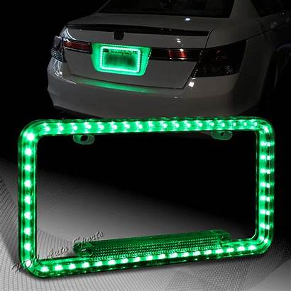 Led Frame Plate License Rear Flash Universal