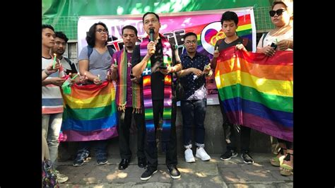 Ph Not Yet Ready For Same Sex Marriage Palace Youtube