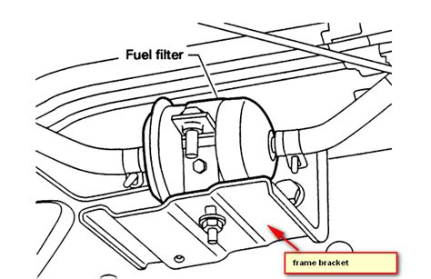 2003 Altima Fuel Filter Location by How To Change Fuel Filter On 2001 Nissan Frontier
