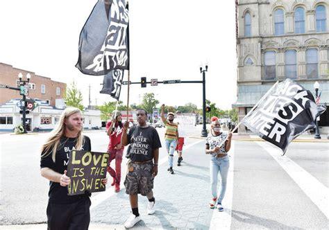 Protesting police violence - Sidney Daily News