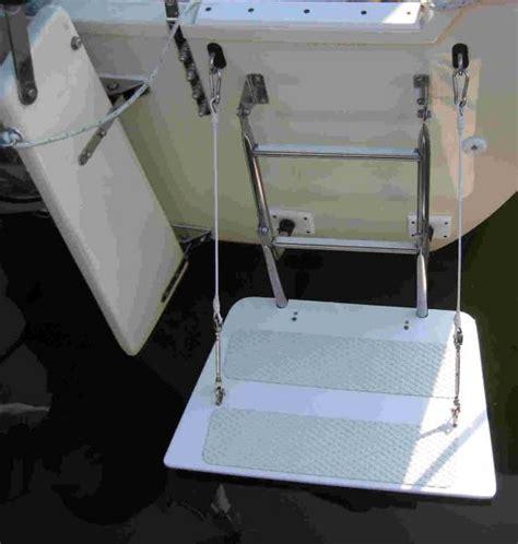 Boat Swim Platform With Ladder For Sale by Hunterowners Folding Ladder Swim Platform