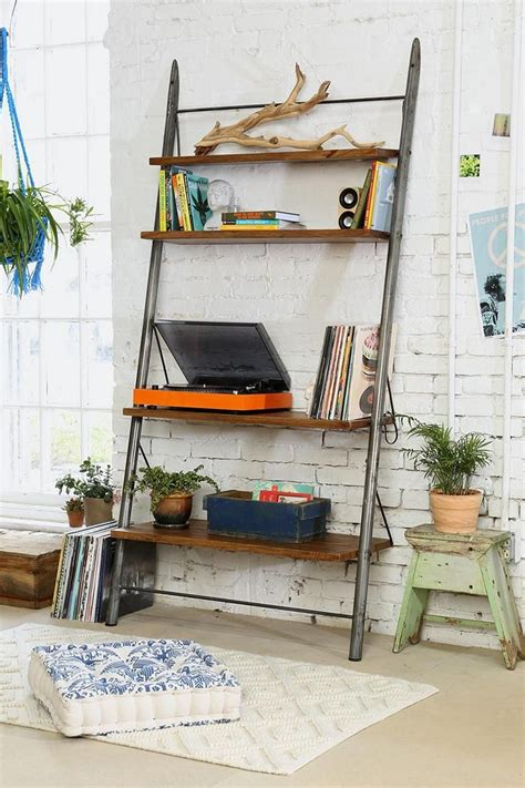 leaning wall shelf leaning bookshelf design possibilities casual with a