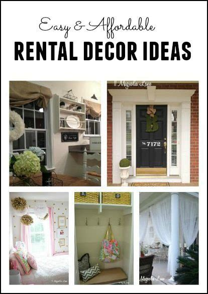 Kitchen Decorating Ideas For Renters by How To Make That Rental House Into A Home 10 Decorating