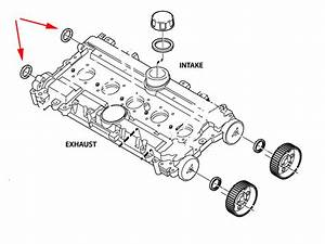 Volvo Rear Camshaft Seal 124732 3514943 Cor3514943 1336016
