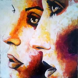 Peinture Visage Femme : peinture d 39 art et d 39 esprit page 3 ~ Melissatoandfro.com Idées de Décoration