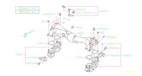 Subaru Intake Manifold Diagram by 14120aa051 Motor Assembly Intake Manifold