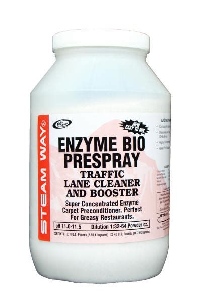 Enzyme Bio Prespray, Traffic Lane Cleaner, And Booster