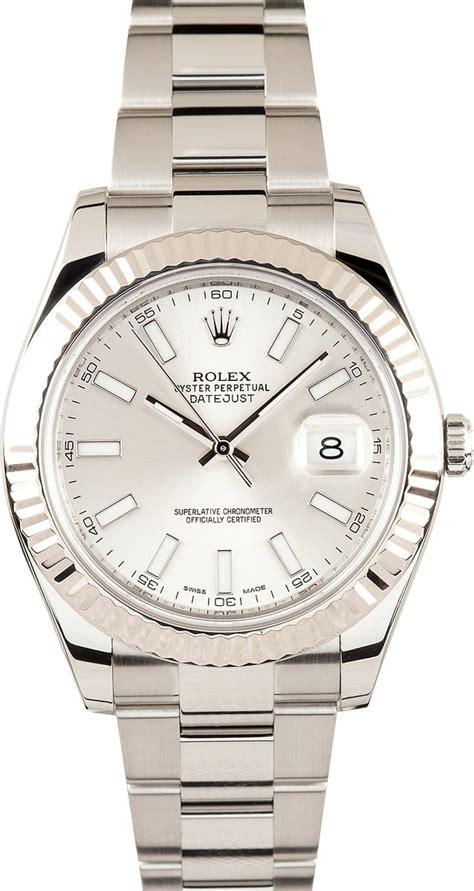 Rolex Datejust II 116334 Silver Dial