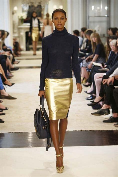 Best 25 Gold Pencil Skirt Ideas On Pinterest Black Lace